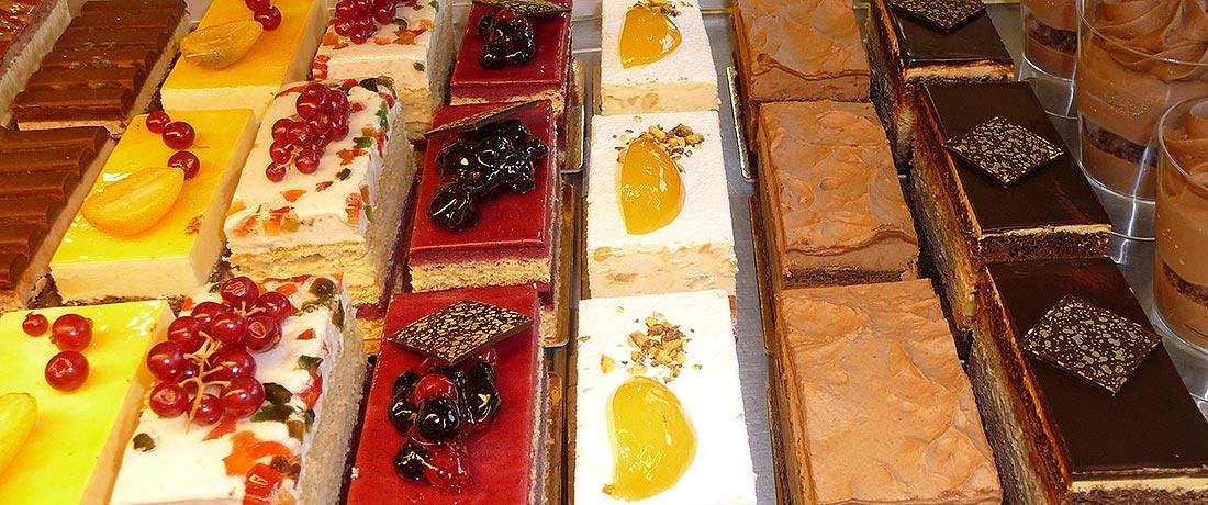 Gâteaux, tartes et entremets ...